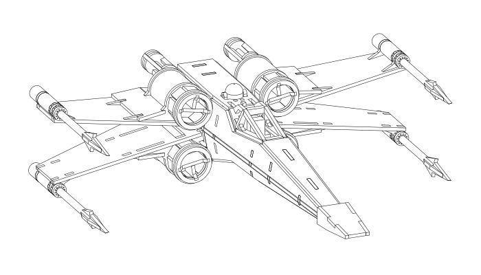 M x wing fighter star wars coloring page coloring pages for Star wars x wing coloring pages